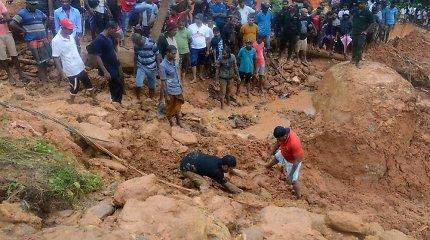 Lietuva skyrė lėšų nuo potvynių nukentėjusioms Šri Lankai ir Maliui