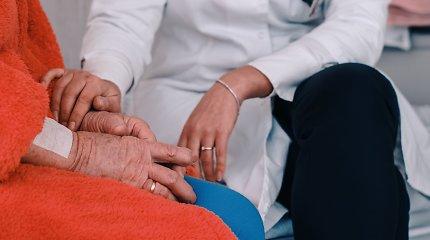 Romainių tuberkuliozės ligoninė pristatė naujas slaugos ir palaikomojo gydymo galimybes