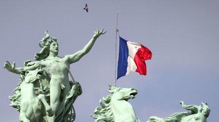 Nedarbas Prancūzijoje smuko į žemiausią per dešimtmetį lygį
