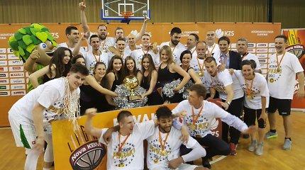 """Po 8 metų pertraukos """"Olimpija"""" grįžo į Slovėnijos čempionų sostą"""