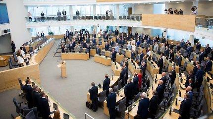 Nepavykus referendumui, valdantieji vėl bando per Seimą sumažinti parlamentarų skaičių
