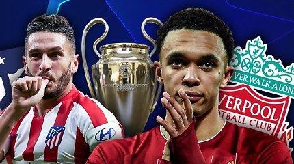 Čempionų lygos intriga: ar D.Simeone vyrai gali sumedžioti Europos futbolo karalių?