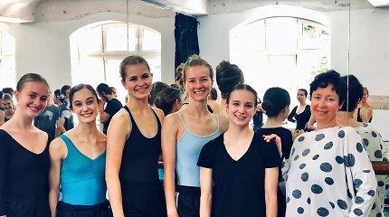 Balerinų iš Amerikos karjera prasidės Klaipėdos baleto trupėje