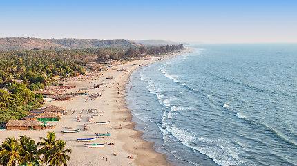 Indijos Goa turizmo atstovai prašo valdžios nuo spalio atverti provinciją užsieniečiams