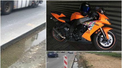 Po motociklo avarijos kaunietis įsivėlė į ginčą su draudimo bendrove: kaip skaičiuojama žala?