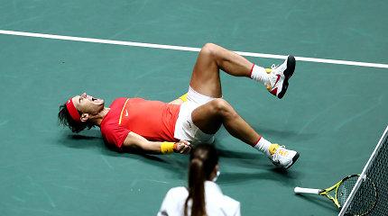 R.Nadalio fenomenas dar kartą sugrąžino šeimininkus į kovą – Ispanija žais finale