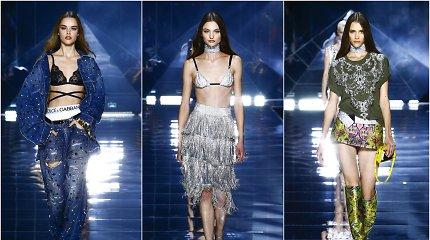 """""""Dolce & Gabbana"""" Milane pristatė užburiančią kolekciją: """"Norime mėgautis gyvenimu"""""""