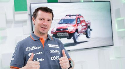 Naujas Antano Juknevičiaus planas: nori įsigyti greitesnį Dakaro automobilį