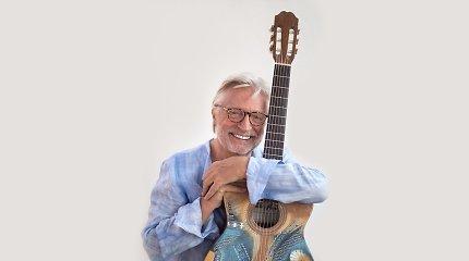 Perkeltas gitaros virtuozo Francis Goya koncertas rugpjūtį vyks Trakų pilyje