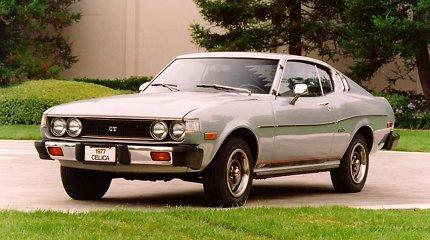 """""""Toyota Celica"""" – modelis, japonams padėjęs užkariauti amerikiečių simpatijas"""