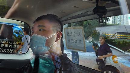 Honkonge baigėsi pirmasis nacionalinio saugumo teismo procesas