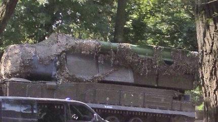 Ukrainos saugumas: nuo 2017 metų šalyje kali MH17 numušusią raketą gabenusio sunkvežimio vairuotojas