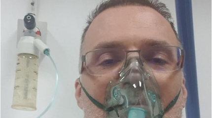 """Buvęs žalgirietis dėl COVID-19 atsidūrė ligoninėje: """"Jaučiuosi lyg pervažiuotas traukiniu"""""""
