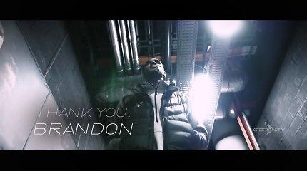 """Ačiū, Brandonai: sukurta jausminga padėka """"Žalgirį"""" paliekančiam B.Daviesui"""