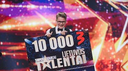 """""""Lietuvos talentai. Supervaikai"""" laimėjęs Jonas Vozbutas atskleidė, kur išleis gautus 10 tūkst. eurų"""