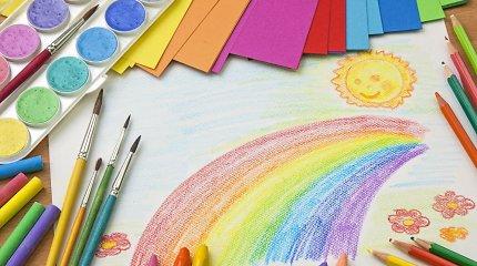 Mažamečio mama pikta: skatinimas darželyje piešti vaivorykštes – provokacija?