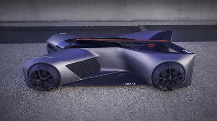 2050-ųjų superautomobilis: net sunku patikėti, kaip jame tilps vairuotojas ir kokiomis technologijomis jis pasižymės