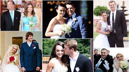 Išrinkite: Įspūdingiausios 2013-ųjų vestuvės