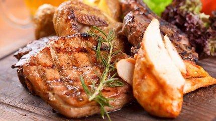 Vakarienei – 10 gardžių patiekalų su vištiena
