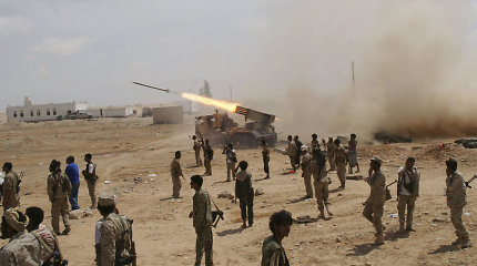 Jemeno vyriausybės atstovas: paliaubos po JT derybų menkai tikėtinos