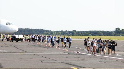 Nutraukti skrydžiai iš Vilniaus į Palangą, nors buvo planuota skraidyti visą vasarą