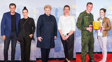 """Filmo """"Siena: tarp Rytų ir Vakarų"""" kūrėjus premjeroje sveikino Dalia Grybauskaitė"""