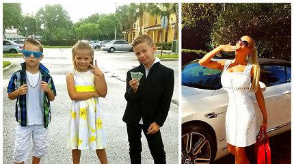 """Erikos Santos trynukai švenčia gimtadienį: """"Dėl ligos nepajėgsiu nustebinti jų brangiomis dovanomis"""""""