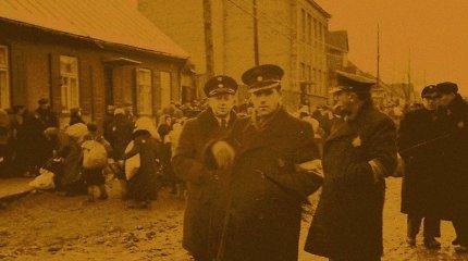 Dešimtmečius išgulėję po žeme: ką liudija Kauno žydų geto policininkų užrašai?