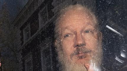 J.Assange'o prašymas dėl koronaviruso paleisti jį už užstatą atmestas