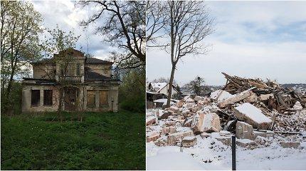 Kaune krito dar viena tarpukario vila: kas architektui – perlas, namo savininkui – griuvėsiai, o paveldosauga neapsisprendusi