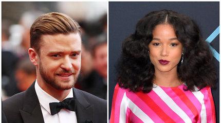 Justinas Timberlake'as – kitos moters draugijoje: pastebėtas romantiškai laikantis jos ranką