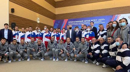 """""""NY Times"""": Rusija šaiposi iš ribojimų per olimpines žaidynes: svarbiausia – pergalė"""
