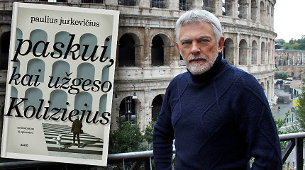 """Naują knygą pristatantis P.Jurkevičius: """"Absoliutus karantinas turi savo slaptą poetiką"""""""