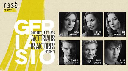 Išrinkite geriausią metų Lietuvos kino aktorių ir aktorę