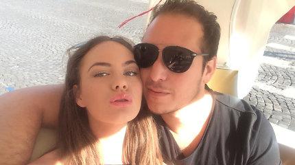 Aaronas Perezas priverstas išsiskirti su sužadėtine Urte: meilei sukliudė JAV pareigūnai