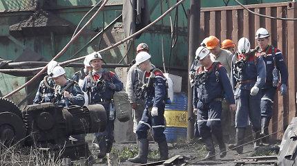 Po sprogimo Rytų Ukrainos kasykloje patvirtinta visų 17 darbininkų žūtis