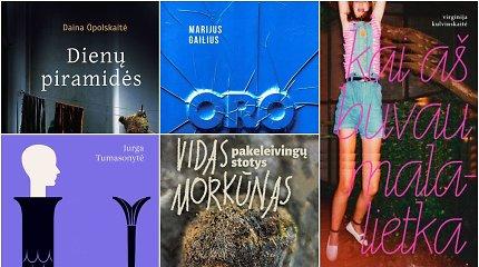 Metų knygos rinkimai: susipažinkite su knygų suaugusiesiems penketuku