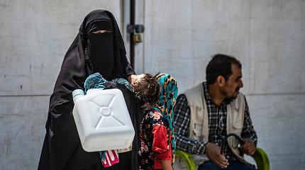 JT: per tris mėnesius šiaurės vakarų Sirijoje namus paliko per 400 tūkst. žmonių