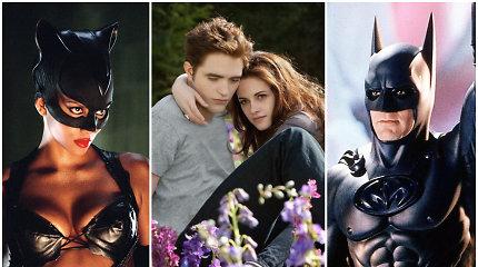 Ne visais filmais aktoriai didžiuojasi: Holivudo žvaigždės atskleidė nemėgstamiausius savo vaidmenis