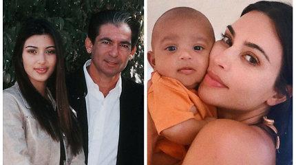 Kim Kardashian įsitikinusi – į jos jauniausią sūnų Psalmą reinkarnavosi miręs tėvas