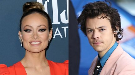 Išsiskyrusi su lietuvių kilmės aktoriumi, Olivia Wilde puolė į 10 metų jaunesnio Harry Styleso glėbį