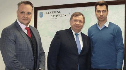 """D.Zubrus ir Elektrėnų meras įsikišo į """"Energijos"""" savininkų konfliktą"""