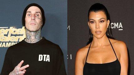 Artima būgnininko ir K.Kardashian draugystė virto romantiška: poros statusą patvirtino šaltinis
