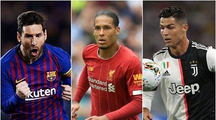 Kovoje dėl geriausio pasaulio futbolininko titulo liko 3 kandidatai