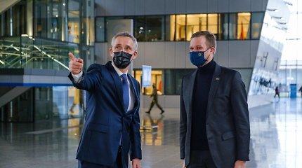 G.Landsbergis ir NATO vadovas kalbėjosi apie regiono saugumą