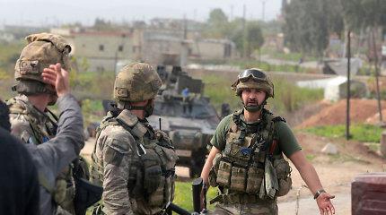 Turkijos pietuose vykdoma operacija prieš kurdų kovotojus