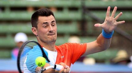 Abejonių keliantis B.Tomičiaus susitikimas – tenisininkas tikina, kad stengėsi