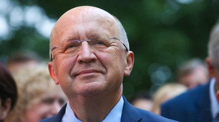 Užsienio ambasadoriams pristatyta A.Kubiliaus kandidatūra į Europos Tarybos vadovus