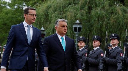 Lenkija ir Vengrija grasina blokuoti ES pinigus: rimta krizė ar laikini kaprizai?