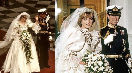 Ar susigundytumėte 40 m. torto gabalėliu iš Dianos ir Charleso vestuvių?